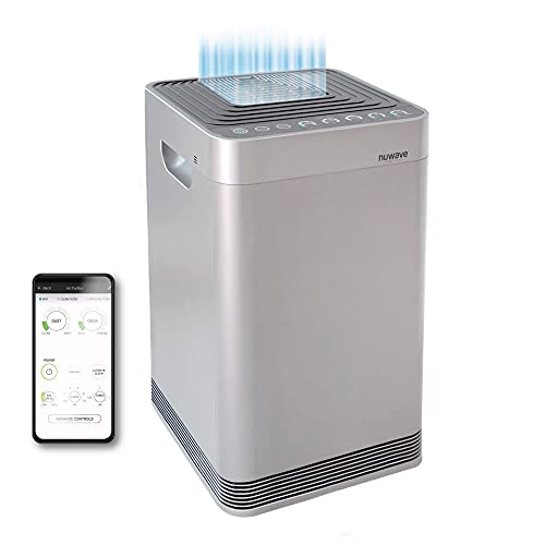 NuWave OxyPure Large Area Smart Air Purifier - Capture and...