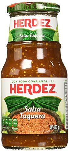 Taquera-Sauce aus Mexiko, Glas 453g - Salsa Taquera HERDEZ, 453g