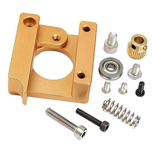UIOTEC 3D Printer MK8 Extruder Aluminum Frame Block DIY Kit(Right Hand) for Makerbot RepRap Prusa i3*