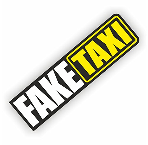 folien-zentrum Fake Taxi Shocker Hand Auto Aufkleber JDM Tuning OEM Dub Decal Stickerbomb Bombing Sticker Illest Dapper Fun Oldschool