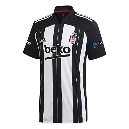 adidas Herren BJK A JSY T-Shirt, Black/White, M