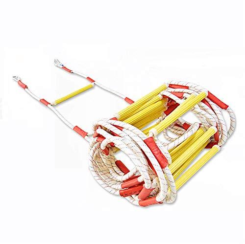 ZMXZMQ Vuurladder, draagbare vlamvertrager, voor noodgevallen, voor kinderen en volwassenen