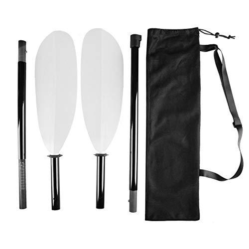 Paleta portátil de la paleta del kayak de la canoa del remo de la paleta combinada de la multisección de la paleta de la fibra de vidrio de la paleta