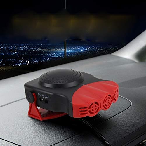 Leixin Luchtblazer, DC 12 V, 150 W, koud en warm, dual gebruik, Drie Outlet-Auto-elektronica-verwarming, voorruitontdooiing, demister, zwart