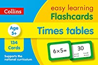 Times Tables Flashcards: Ideal for Home Learning (Collins Easy Learning KS2)
