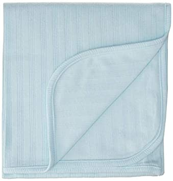 Warm Petit Lem Baby Blankets Plush and Very Soft Ideal for Milestones and Receiving Boys and Girls Blue
