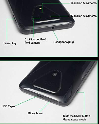 "XiaomiBlackShark35G6.67""256GB12GB(GSMOnly,NoCDMA)InternationalVersion-NoWarranty(MidnightBlack)日本語対応グローバルモデル"