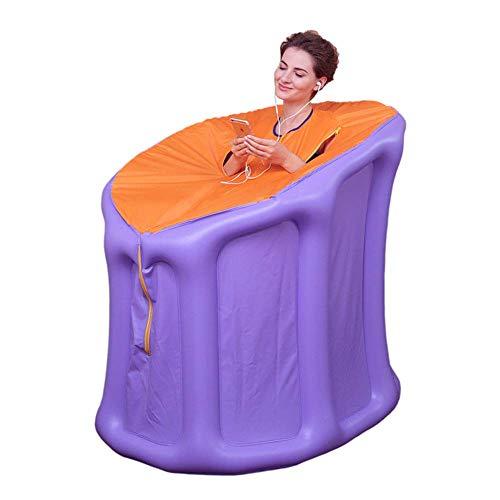 GJNVBDZSF - Tienda de campaña portátil para sauna de vapor, spa en casa, cuerpo completo relajado con forro de acero inoxidable de 2 l, nivel 1-9 para controlar la temperatura