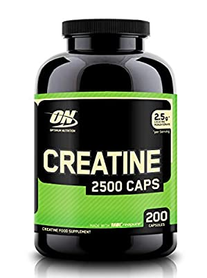Optimum Nutrition Creatine 2500mg, 200 caps by OPTIG