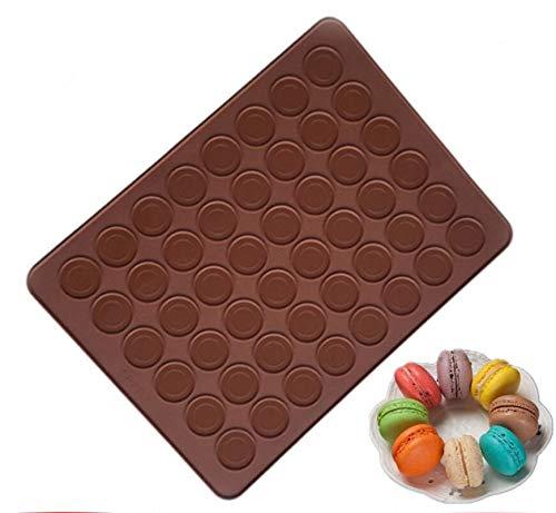 48-Capacity Macaron Silicone Baking Mat Mould Mold ondant Oven Baking Mat DIY Sheet Cake Molds