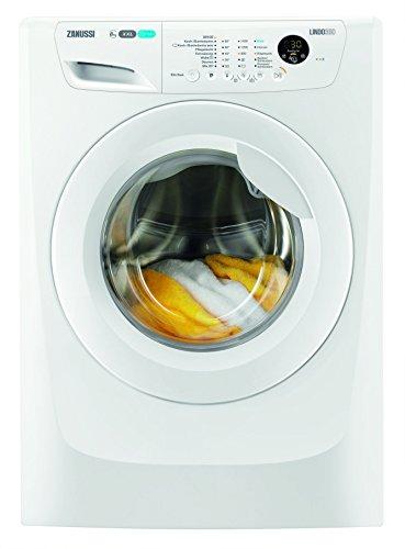 Zanussi ZWF81463C Waschmaschine FL / 190 kWh / 1400 UpM / 8 kg / 9999 Liter / 8 kg GentleCare Trommel / Restlaufanzeige