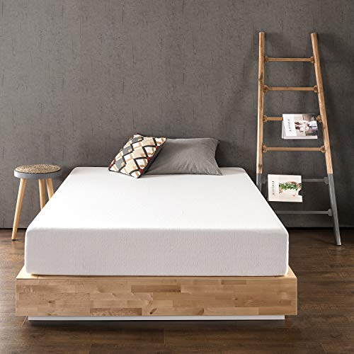 Best Price Mattress 12 Inch Memory Foam Mattress, Calming Green Tea Infusion, Pressure Relieving, Bed-in-a-Box, CertiPUR-US Certified, Queen