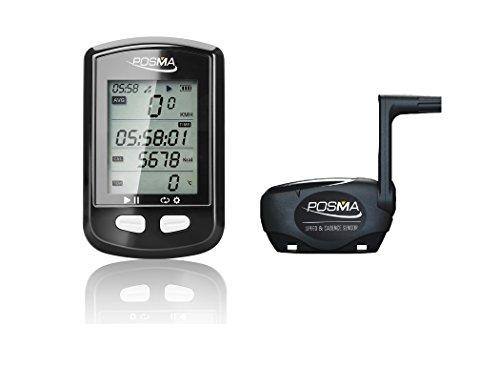 Posma DB2Bluetooth GPS Cycling bici tachimetro contachilometri altimetro calorie Heart Rate Cadence temperatura Route Tracking ANT +, supporto Strava, ble4.0smartphone, iPhone Android App