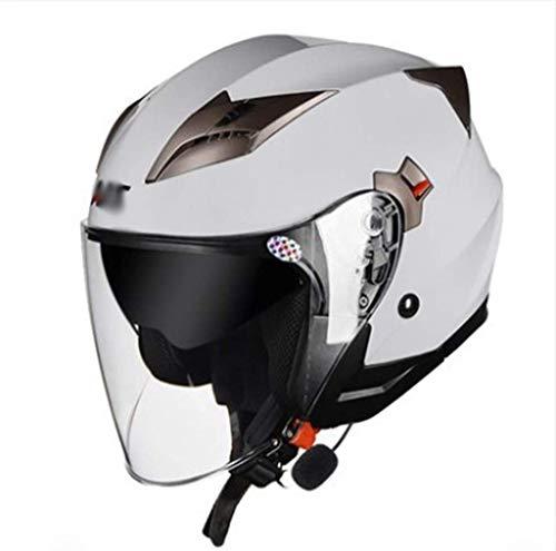 TKYZYY Bluetooth Integrato Modulare Moto Casco Full Face Crash Caschi Motorcycle Hemlets ECE Certificazione con Doppia Visiera off-Road Moto Casco Sicurezza Unisex Microfono Incorporato