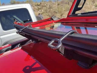 Jeep Wrangler JL Windshield Tie Down Strap Pair OEM MOPAR