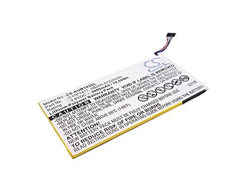 TECHTEK batería sustituye 0B200-01220000, para C11P1411 Compatible con [ASUS] K01E, ME0310K 1B, ME0310K 6A, ME103K 1A, MeMO Pad 10 ME103K