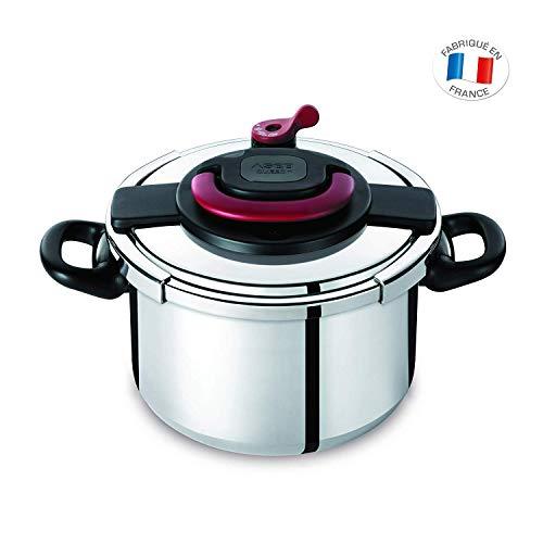 Autocuiseur SEB Clipso Plus P4371406 8L : 6 à 8 personnes - 2 programmes de cuisson...