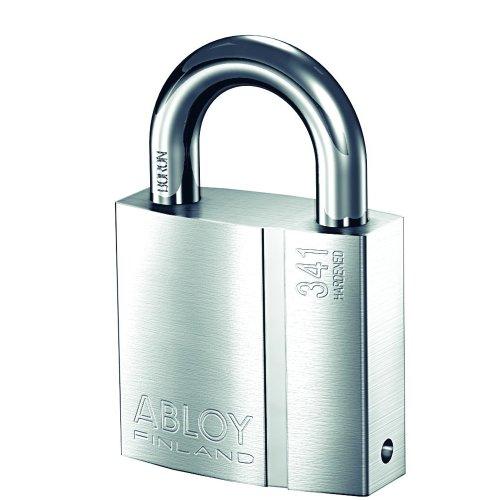 共栄工業 ABLOY プロテック仕様 南京錠 PADLOCK PL341N/25 クロームメッキ仕上げ