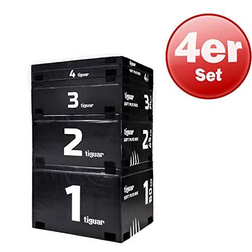 Tiguar Plyo Soft Box Set van 4 Functionele Training Agility