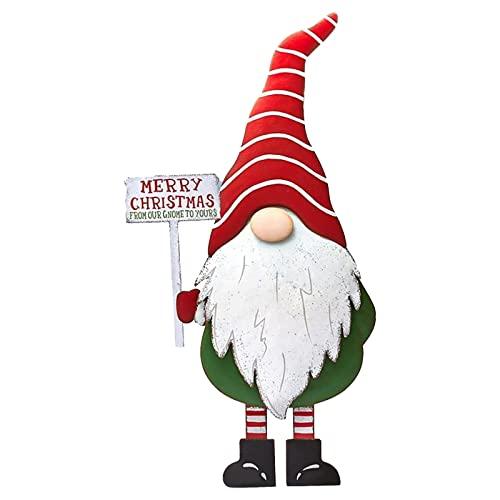 Festliche Figur Outdoor Rasendekoration Weihnachten Deko Wichtel Hoch Schwedischen Weihnachtsmann Santa Tomte Gnom Weihnachtsdeko Weihnachtsferien Gartenzwerg Yard Pfahl Mit Weihnachtssymbol Exquisit