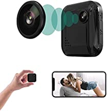 Spy Camera Mini Hidden Camera OUCAM 1080P Spy Cam with Audio Small Nanny Cam WiFi Security Cameras for Indoor/Outdoor, Night Vision Motion Alerts Video Recorder with Live Feed Phone APP