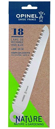 OPINEL - Lame de rechange Scie N°18 - Lame de remplacement Scie Pliante OPINEL Jardinage - Lame Carbone Revêtement Anti-Corrosion Scie Pliable Coupe-Branche - Lame 18 cm