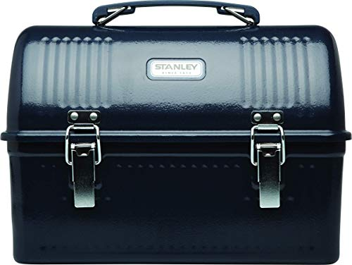 Stanley Classic Lunch Box, Hammer Tone Navy, 10-Quart (Renewed)