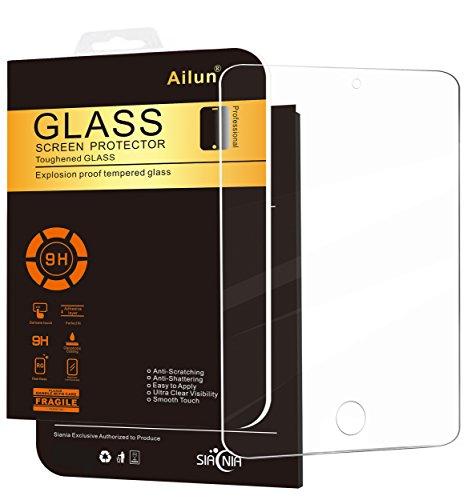 Ailun Panzerglas für iPad Mini 4 / iPad Mini 5, Schutzfolie Panzerglasfolie Premium Klar Hartglas Bildschirmschutzfolie, 9H Gehärtetem Glas, Blasenfrei Anbringen (Nicht kompatibel mit iPad Mini / 2/3)