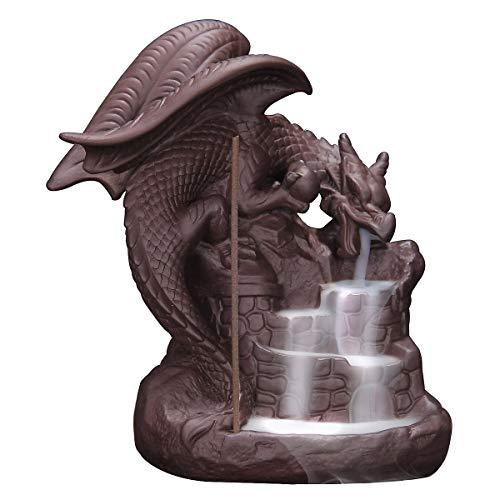 wolf cone incense burner - 6