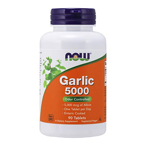 Top garlic pills with odor for 2020