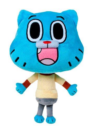 El asombroso mundo de Gumball - Peluche Gumball personaje azul 28cm - Calidad super soft - azul-