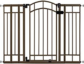 Summer Multi-Use Deco Extra Tall Walk-Thru Gate, Bronze (28.5 - 48 Inch)