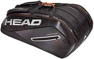 [VUTENNISCOM] Head Tour Team Tennis Bag Black/Silver Color - 3R 6R 9R 12R Backpack