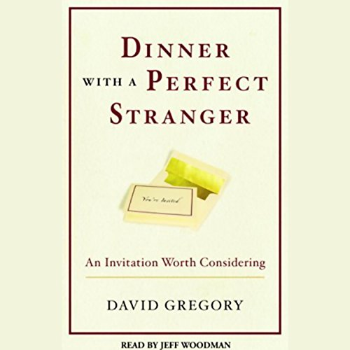 Dinner with a Perfect Stranger audiobook cover art