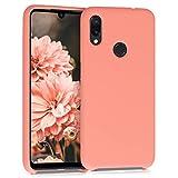 kwmobile Cover Compatibile con Xiaomi Redmi Note 7 / Note 7 PRO - Cover Custodia in Silicone TPU - Back Case Protezione Cellulare Corallo Matt