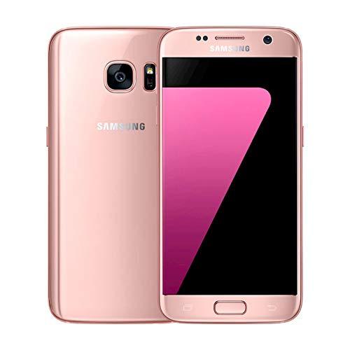 Samsung Galaxy S7 SM-G930F, 32GB 4G - Smartphone (SIM única, Android, NanoSIM, gsm, HSPA+, LTE), Rosa