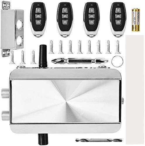 Electronic Intelligent Lock Kit, Huis Afstandsbediening Lock, mechanische anti-diefstal Lock met Vier Remote Controller zhihao