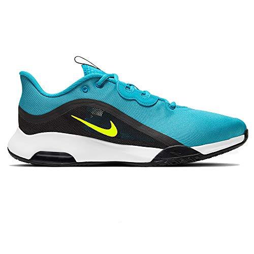 Nike Court Air MAX Volley, Zapatillas de Tenis Hombre, Chlorine Blue Cyber Black White, 45.5 EU