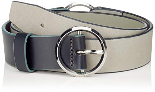 Liebeskind Damen Belt01F9 Nubuck Gürtel, Blau (Light Blue Mist 5232), 100