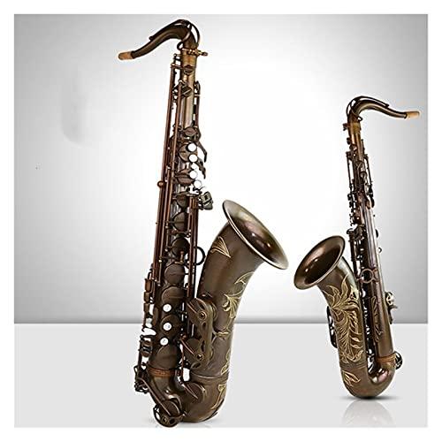 Saxofón Saxofón Tenor Professional B Flat Instrumentos Musicales Saxofone De Cobre Antiguo Instrumento Viento