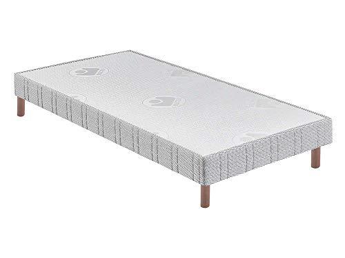 BULTEX - Sommier 90 x 190 Confort ferme 90x190cm AB10986