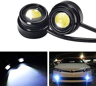 iJDMTOY High Power LED Eagle Eye Bulbs For Parking Light, Fog Lights, Xenon White