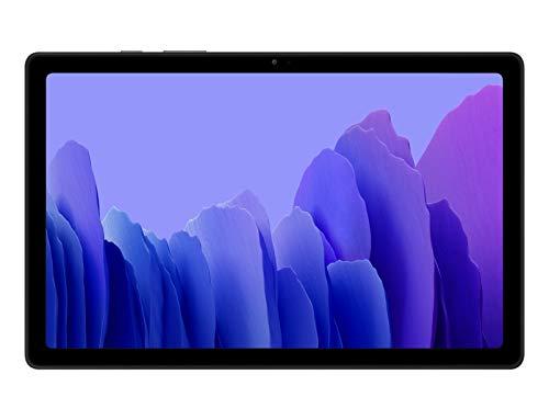 SAMSUNG Galaxy Tab A7 LTE - Tablet 32GB, 3GB RAM, Dark Gray [Versione Internazionale]
