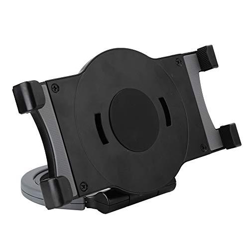 Exliy Soporte para Tableta/teléfono, Hecho de Silicona y pc duraderos, Puede Girar 360 Grados, Uso Fuerte y a Largo Plazo(Black)