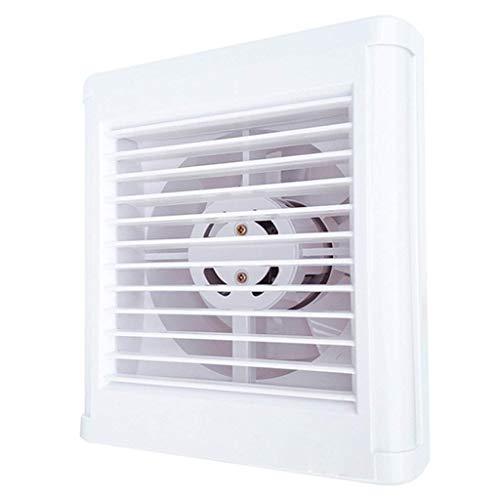 DFBGL Ventilador de Escape para baño, Rejilla para Ventilador de ventilación Ventilador de Techo de Descarga Vertical Blanco