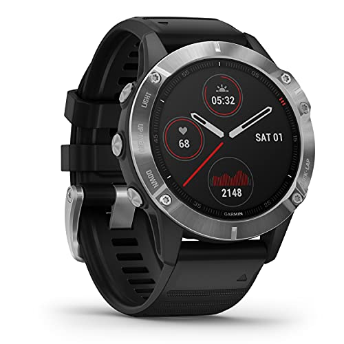 Garmin fenix 6 - GPS-Multisport-Smartwatch mit Sport-Apps, 1,3