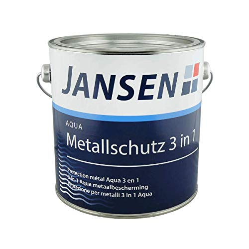 Jansen Aqua Metallschutz 3in1 0,75 Liter DB 703 - Dunkelgrau