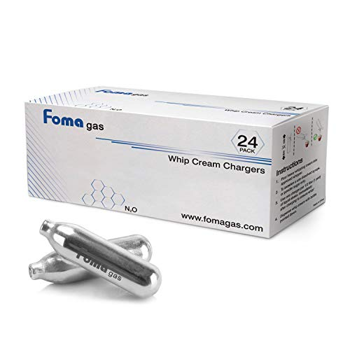 FOMAGAS Whipped Cream Chargers, Pack of 120