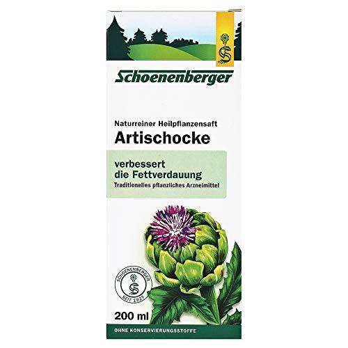 Schoenenberger Naturkosmetik Artischocken-Saft