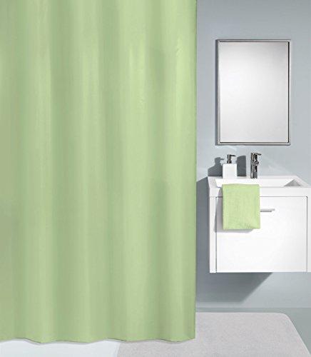 Kleine Wolke textilgesellschaft Duschvorhang, Synthetikfasern, grün, 180x 240cm